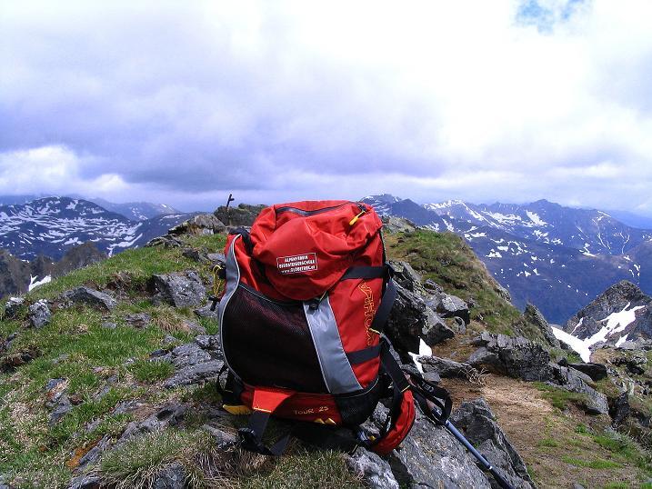 Foto: Andreas Koller / Wander Tour / Einsame Tour auf die Hochtristen (2536m) / Der Gipfel der Hochtristen ist erreicht! / 03.06.2009 21:38:32