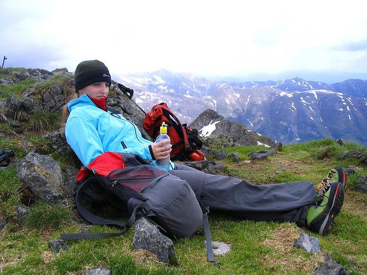 Foto: Andreas Koller / Wander Tour / Einsame Tour auf die Hochtristen (2536m) / 03.06.2009 21:38:00