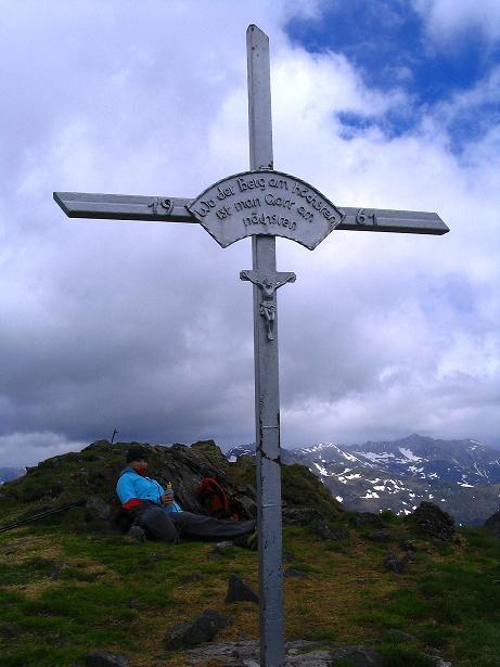 Foto: Andreas Koller / Wander Tour / Einsame Tour auf die Hochtristen (2536m) / 03.06.2009 21:37:52