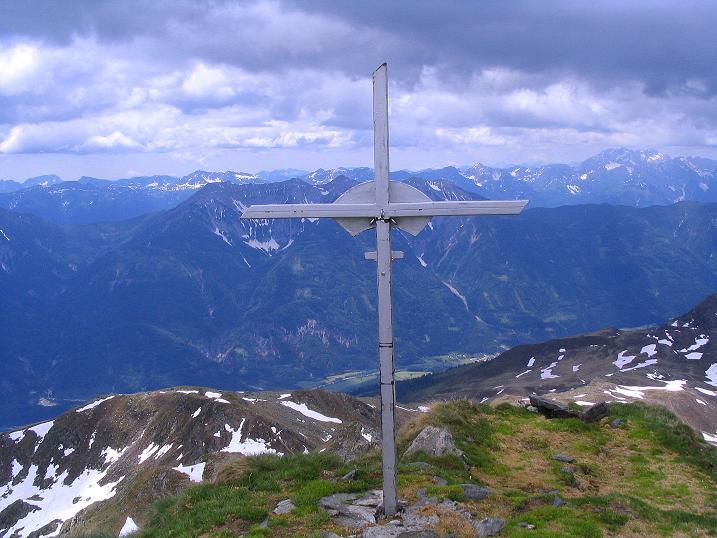 Foto: Andreas Koller / Wander Tour / Einsame Tour auf die Hochtristen (2536m) / 03.06.2009 21:37:10