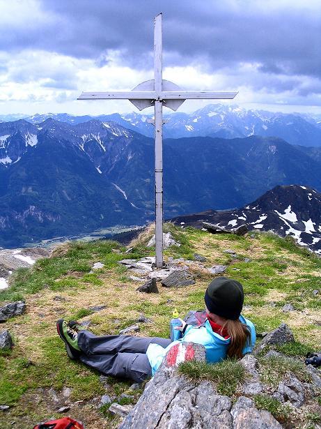Foto: Andreas Koller / Wander Tour / Einsame Tour auf die Hochtristen (2536m) / 03.06.2009 21:36:55
