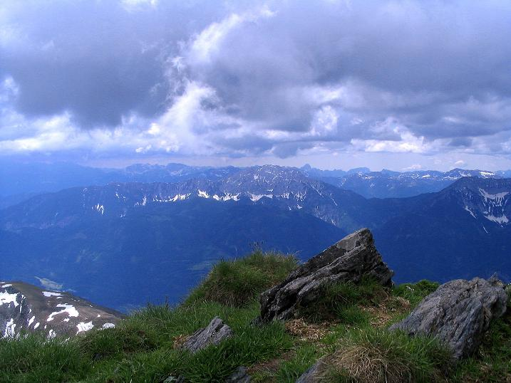 Foto: Andreas Koller / Wander Tour / Einsame Tour auf die Hochtristen (2536m) / 03.06.2009 21:36:45