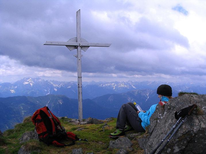 Foto: Andreas Koller / Wander Tour / Einsame Tour auf die Hochtristen (2536m) / 03.06.2009 21:36:07