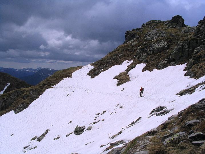 Foto: Andreas Koller / Wander Tour / Einsame Tour auf die Hochtristen (2536m) / 03.06.2009 21:34:09