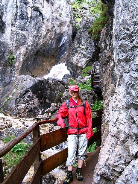 Foto: Andreas Koller / Klettersteig Tour / Klettersteig Siega (1510m) / Zustieg über die romantische Silberkarklamm / 04.06.2009 21:54:52