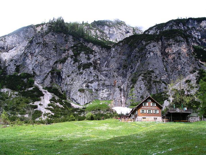 Foto: Andreas Koller / Klettersteig Tour / Klettersteig Siega (1510m) / Silberharhütte und Karwand / 04.06.2009 21:53:20