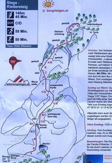 Foto: Andreas Koller / Klettersteig Tour / Klettersteig Siega (1510m) / 04.06.2009 21:52:31