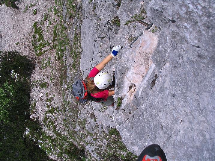Foto: Andreas Koller / Klettersteig Tour / Klettersteig Siega (1510m) / 04.06.2009 21:52:01