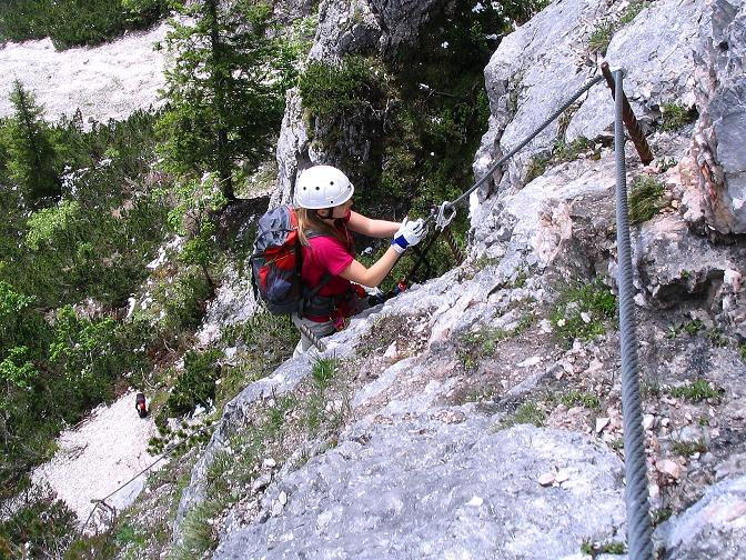 Foto: Andreas Koller / Klettersteig Tour / Klettersteig Siega (1510m) / 04.06.2009 21:51:53