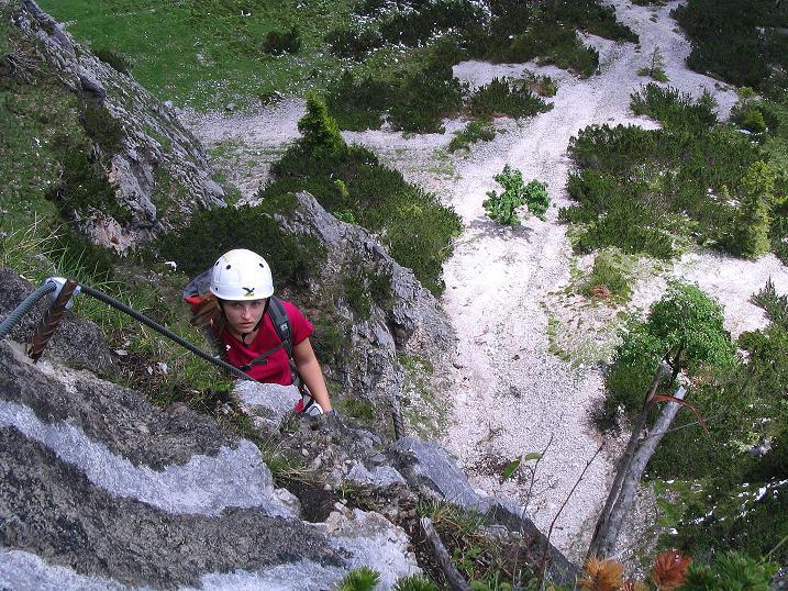 Foto: Andreas Koller / Klettersteig Tour / Klettersteig Siega (1510m) / 04.06.2009 21:51:44