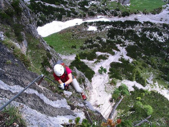 Foto: Andreas Koller / Klettersteig Tour / Klettersteig Siega (1510m) / 04.06.2009 21:51:35