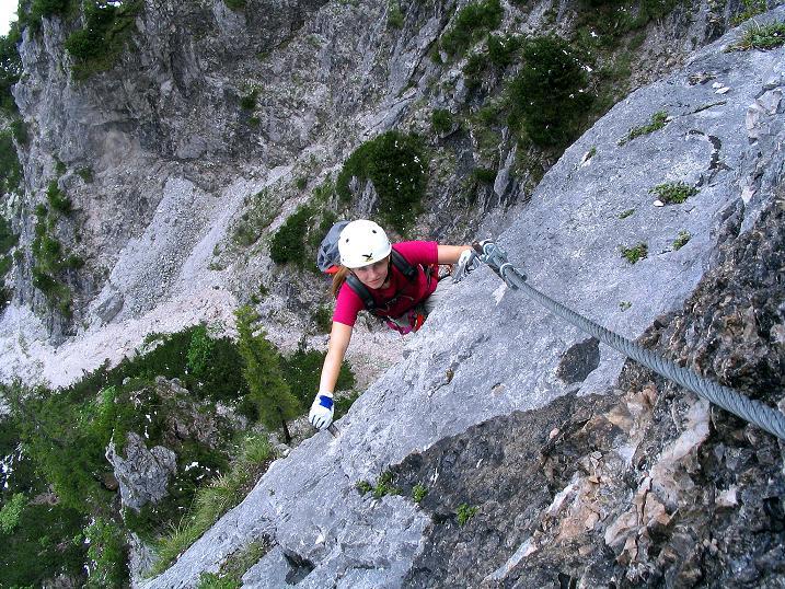 Foto: Andreas Koller / Klettersteig Tour / Klettersteig Siega (1510m) / 04.06.2009 21:50:43