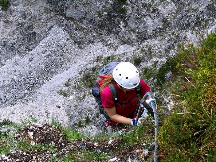 Foto: Andreas Koller / Klettersteig Tour / Klettersteig Siega (1510m) / 04.06.2009 21:50:35