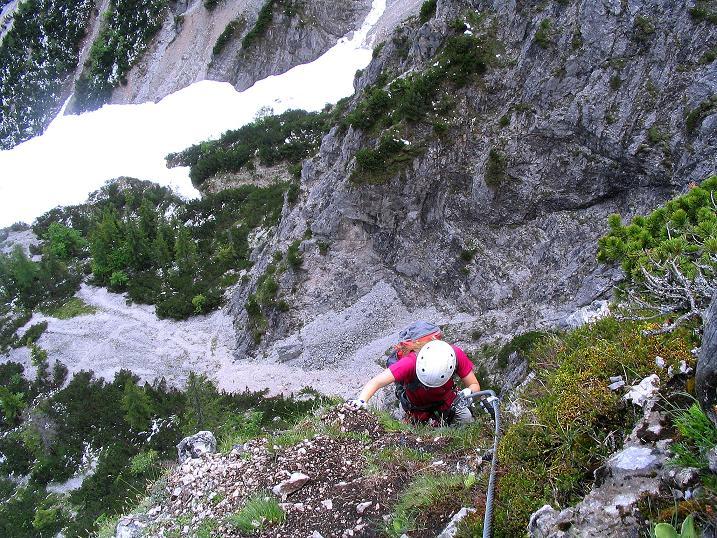 Foto: Andreas Koller / Klettersteig Tour / Klettersteig Siega (1510m) / 04.06.2009 21:50:27