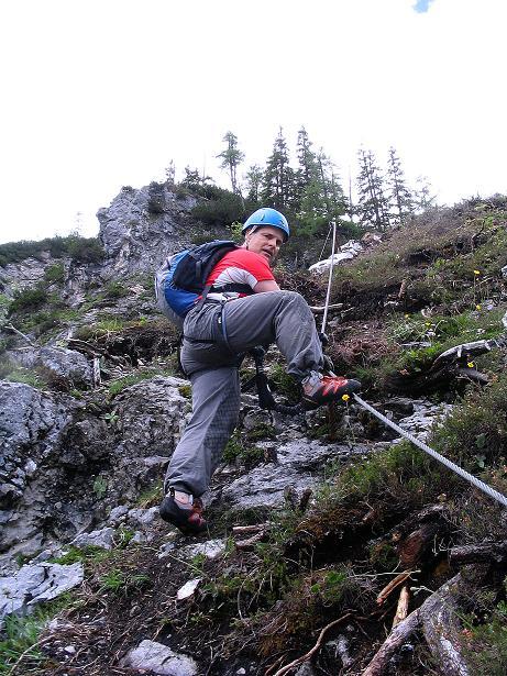 Foto: Andreas Koller / Klettersteig Tour / Klettersteig Siega (1510m) / 04.06.2009 21:50:16