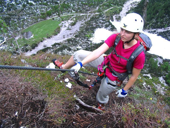 Foto: Andreas Koller / Klettersteig Tour / Klettersteig Siega (1510m) / 04.06.2009 21:50:08