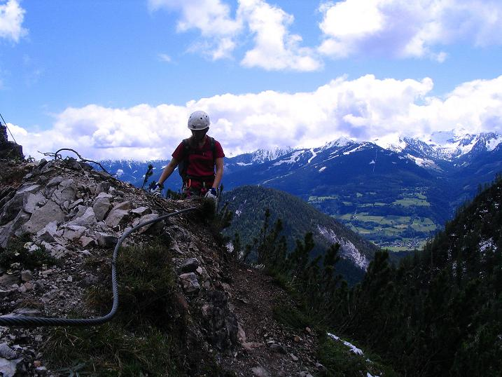 Foto: Andreas Koller / Klettersteig Tour / Klettersteig Siega (1510m) / 04.06.2009 21:49:57