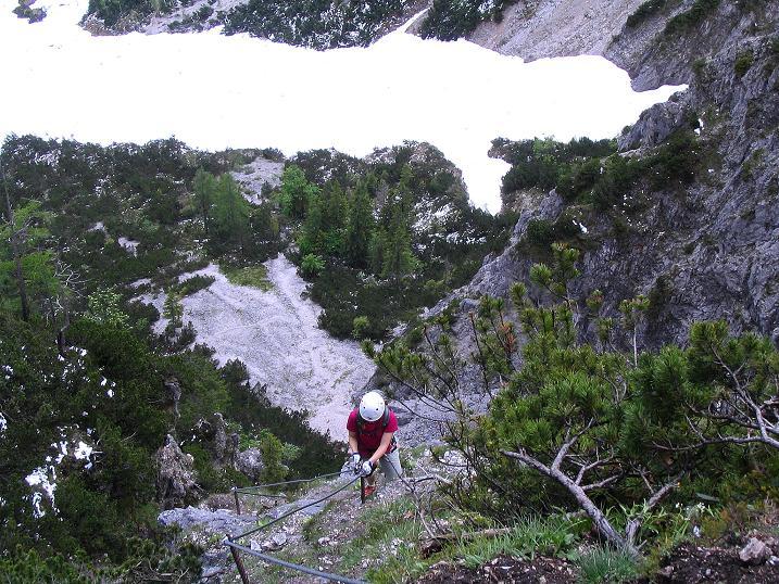 Foto: Andreas Koller / Klettersteig Tour / Klettersteig Siega (1510m) / 04.06.2009 21:49:46