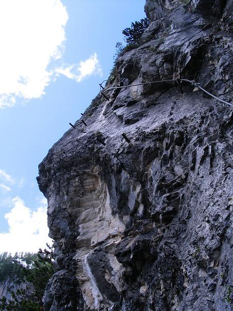 Foto: Andreas Koller / Klettersteig Tour / Klettersteig Siega (1510m) / 04.06.2009 21:49:35