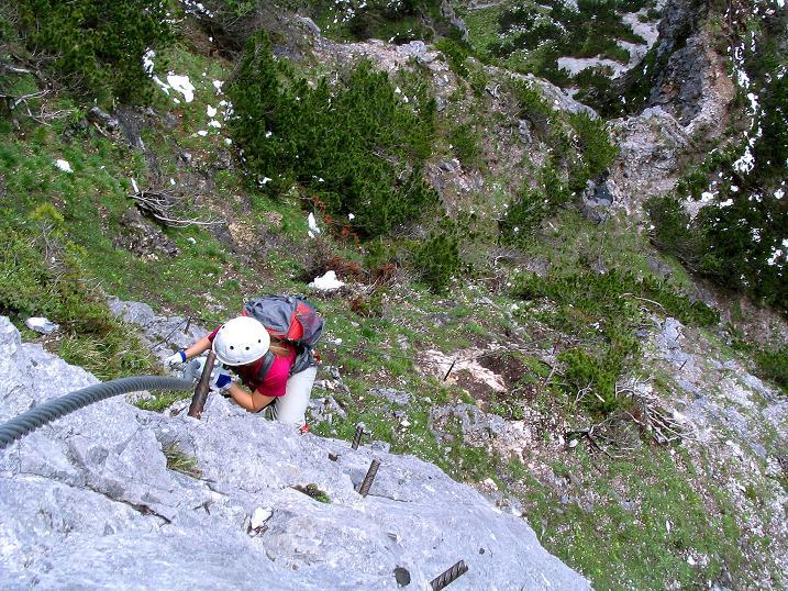 Foto: Andreas Koller / Klettersteig Tour / Klettersteig Siega (1510m) / 04.06.2009 21:49:26