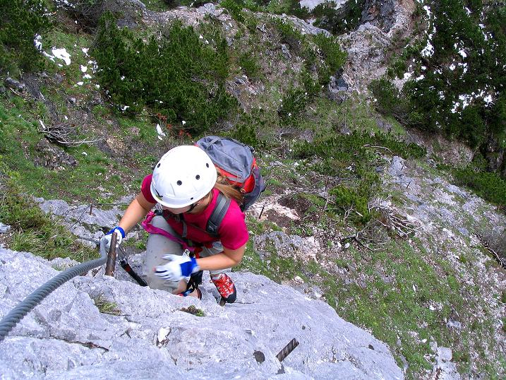 Foto: Andreas Koller / Klettersteig Tour / Klettersteig Siega (1510m) / 04.06.2009 21:49:14