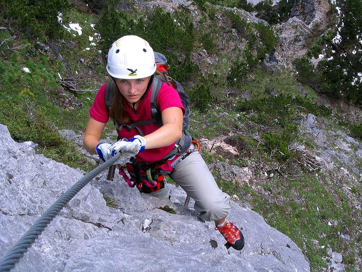 Foto: Andreas Koller / Klettersteig Tour / Klettersteig Siega (1510m) / 04.06.2009 21:49:04