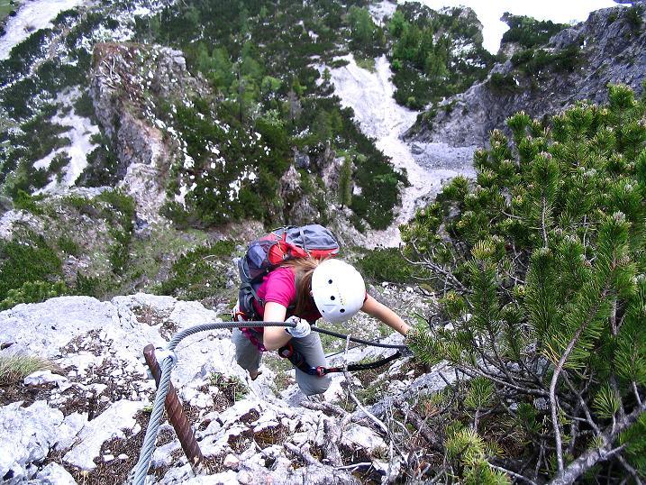 Foto: Andreas Koller / Klettersteig Tour / Klettersteig Siega (1510m) / 04.06.2009 21:48:56