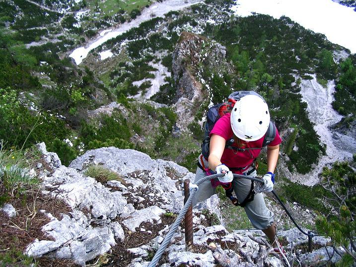 Foto: Andreas Koller / Klettersteig Tour / Klettersteig Siega (1510m) / 04.06.2009 21:48:45