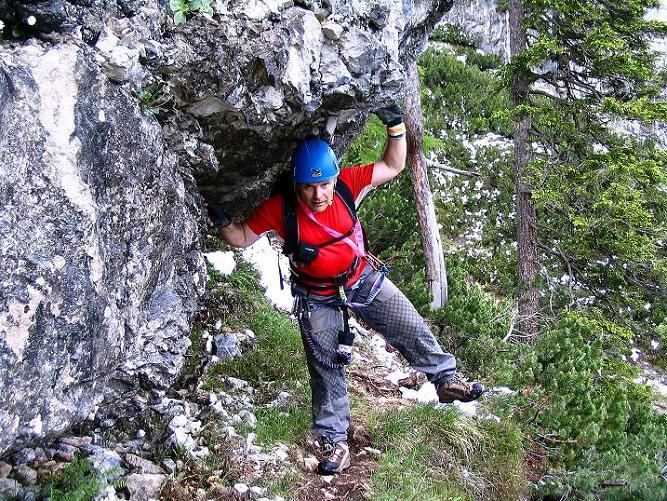 Foto: Andreas Koller / Klettersteig Tour / Klettersteig Siega (1510m) / 04.06.2009 21:46:26