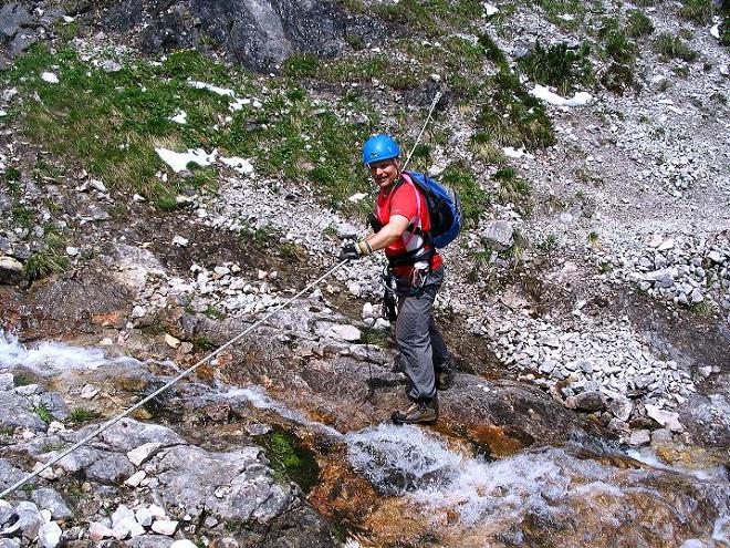 Foto: Andreas Koller / Klettersteig Tour / Klettersteig Siega (1510m) / 04.06.2009 21:46:03