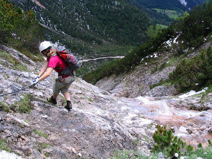 Foto: Andreas Koller / Klettersteig Tour / Klettersteig Siega (1510m) / 04.06.2009 21:45:50