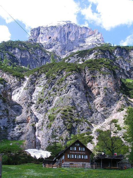 Foto: Andreas Koller / Klettersteig Tour / Klettersteig Siega (1510m) / Silberkarhütte und Wasenspitze (2257 m) / 04.06.2009 21:42:59