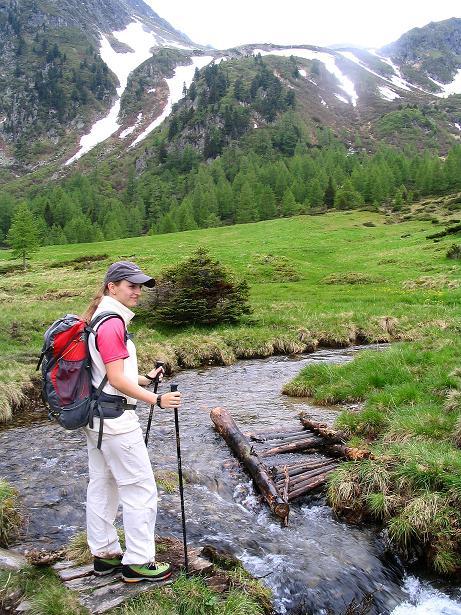 Foto: Andreas Koller / Wander Tour / Auf Gamsspuren über die Seekarspitze (2115m) / Bachquerung im Ochsenkar / 07.06.2009 18:33:58