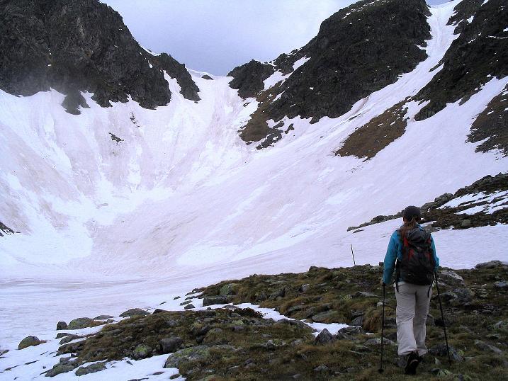 Foto: Andreas Koller / Wander Tour / Auf Gamsspuren über die Seekarspitze (2115m) / Gamsgrube und Gefrorener See / 07.06.2009 18:33:11