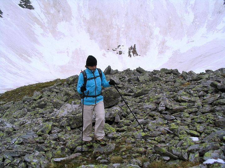Foto: Andreas Koller / Wander Tour / Auf Gamsspuren über die Seekarspitze (2115m) / In der Gamsgrube / 07.06.2009 18:32:52