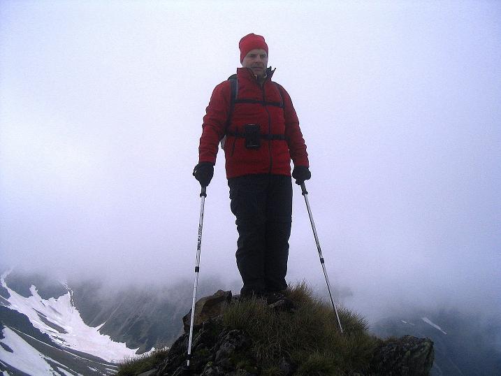 Foto: Andreas Koller / Wander Tour / Auf Gamsspuren über die Seekarspitze (2115m) / Am kleinen Gipfel der Seekarspitze / 07.06.2009 18:30:29