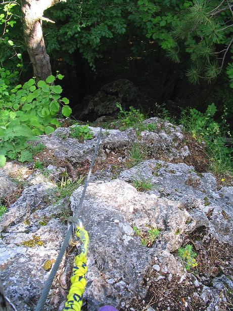 Foto: Andreas Koller / Klettersteig Tour / Klettersteig E 60 (758m) / 08.06.2009 23:59:26