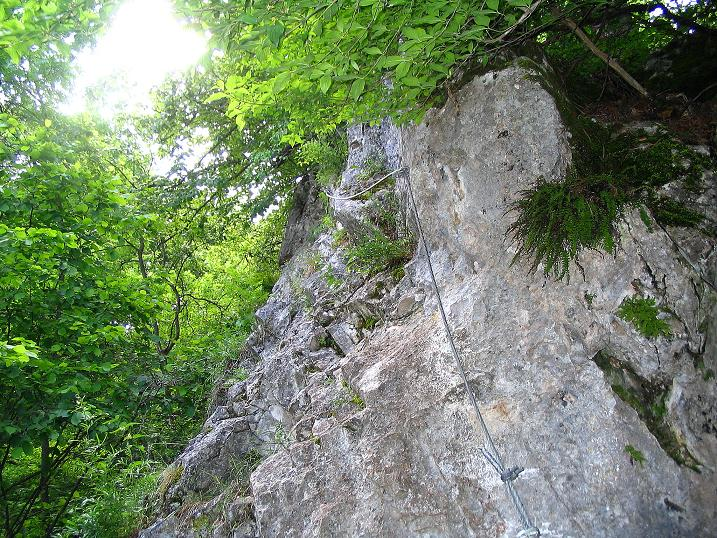 Foto: Andreas Koller / Klettersteig Tour / Klettersteig E 60 (758m) / 08.06.2009 23:59:00