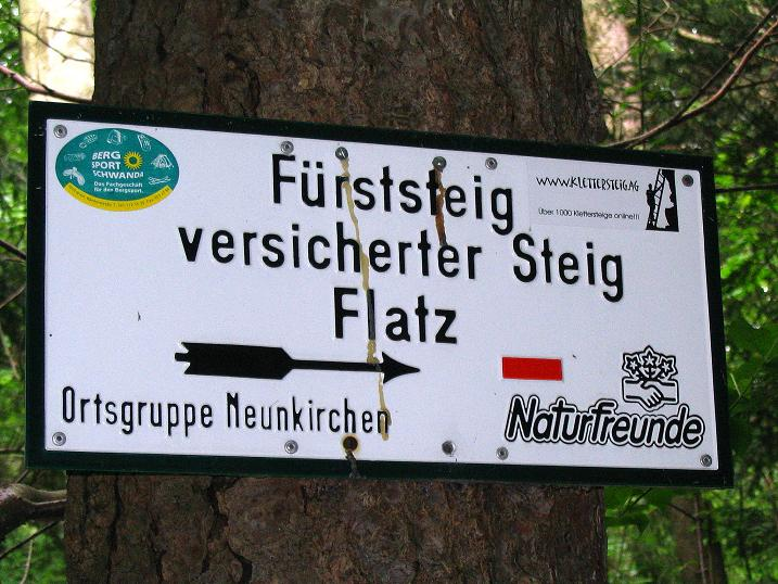 Foto: Andreas Koller / Klettersteig Tour / Klettersteig E 60 (758m) / 08.06.2009 23:51:31