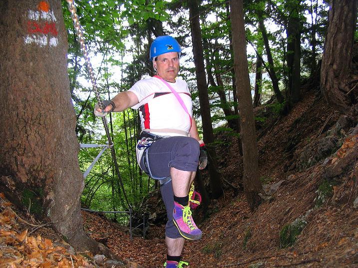 Foto: Andreas Koller / Klettersteig Tour / Klettersteig E 60 (758m) / 08.06.2009 23:51:06