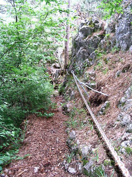 Foto: Andreas Koller / Klettersteig Tour / Klettersteig E 60 (758m) / 08.06.2009 23:50:54