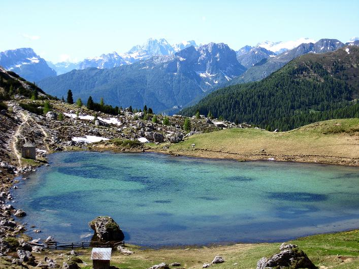 Foto: Andreas Koller / Klettersteig Tour / Via ferrata Averau neu (2649m) / Passo di Valparola / 16.06.2009 00:00:58