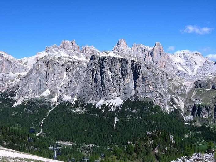 Foto: Andreas Koller / Klettersteig Tour / Via ferrata Averau neu (2649m) / Fanes / 16.06.2009
