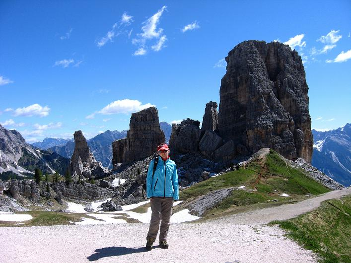 Foto: Andreas Koller / Klettersteig Tour / Via ferrata Averau neu (2649m) / Die Cinque Torri / 15.06.2009 23:59:24