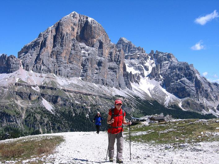 Foto: Andreas Koller / Klettersteig Tour / Via ferrata Averau neu (2649m) / 15.06.2009 23:58:27