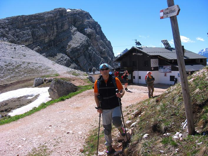 Foto: Andreas Koller / Klettersteig Tour / Via ferrata Averau neu (2649m) / 15.06.2009 23:58:03
