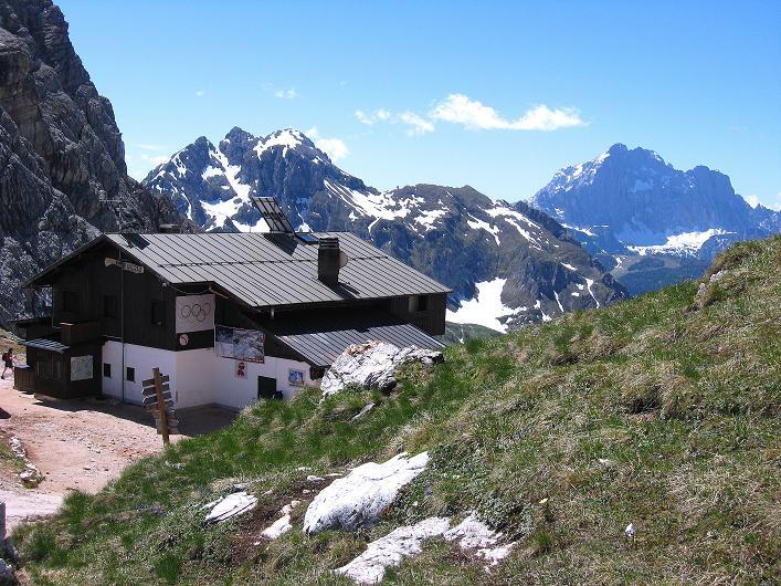 Foto: Andreas Koller / Klettersteig Tour / Via ferrata Averau neu (2649m) / Rif. Averau / 15.06.2009 23:57:55