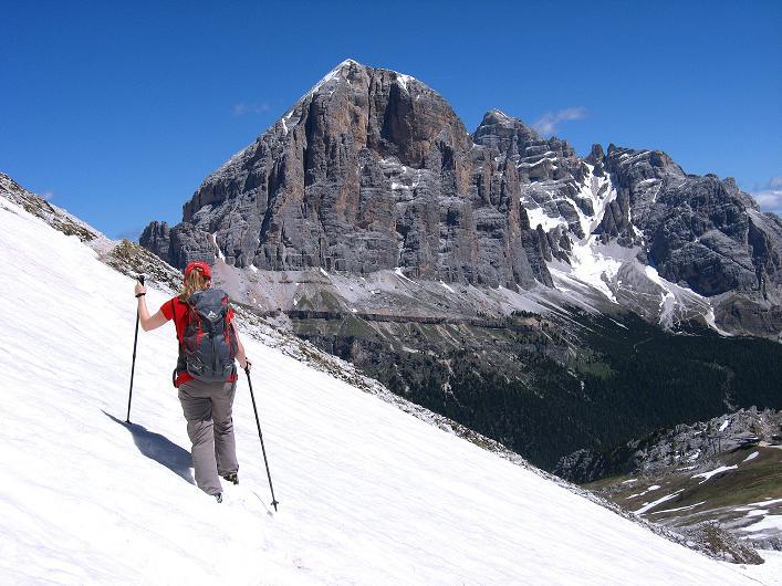 Foto: Andreas Koller / Klettersteig Tour / Via ferrata Averau neu (2649m) / 15.06.2009 23:57:36