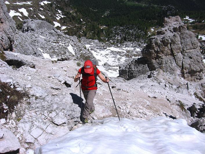 Foto: Andreas Koller / Klettersteig Tour / Via ferrata Averau neu (2649m) / 15.06.2009 23:57:29