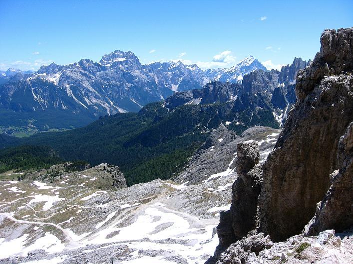 Foto: Andreas Koller / Klettersteig Tour / Via ferrata Averau neu (2649m) / 15.06.2009 23:55:55